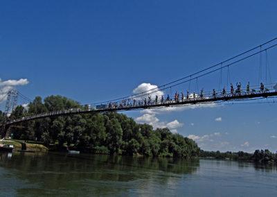 Viseći most na Križnici, Pitomača