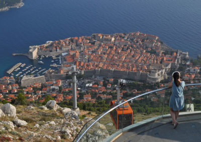 Dubrovnik, pogled sa Srđa