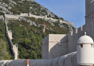 Stonske zidine-Ston