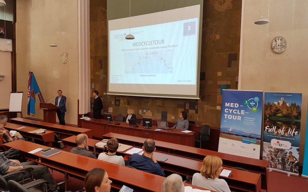 Održano 7 županijskih radionica za izradu Akcijskog plana EuroVelo 8 rute do 2030. godine