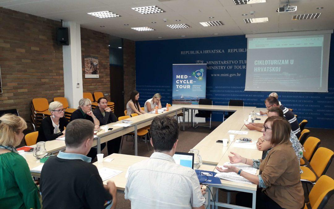 Na sastanku Koordinacijskog tijela predstavljen Akcijski plan razvoja cikloturizma duž Jadranske obale