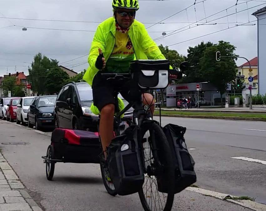 Deset dana biciklom od Bjelovara do Munchena