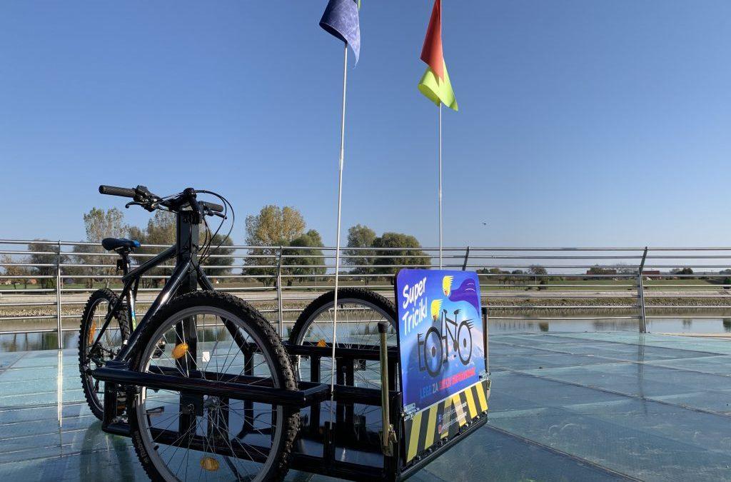 Predstavljen osječki prototip bicikla – trokolice za osobe u invalidskim kolicima